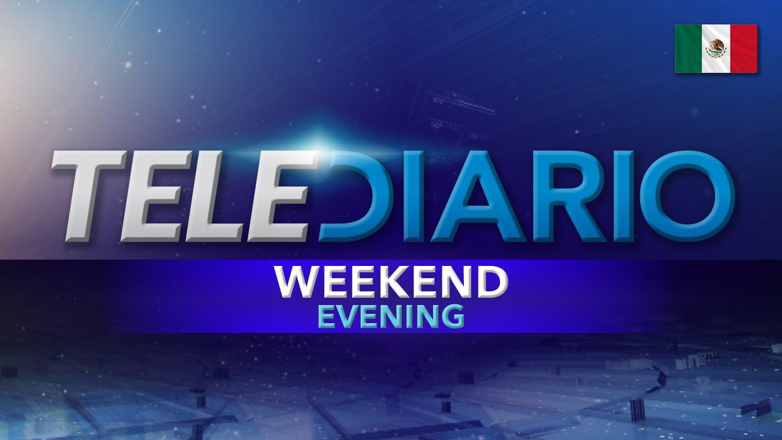 Weekend Evening Telediario poster