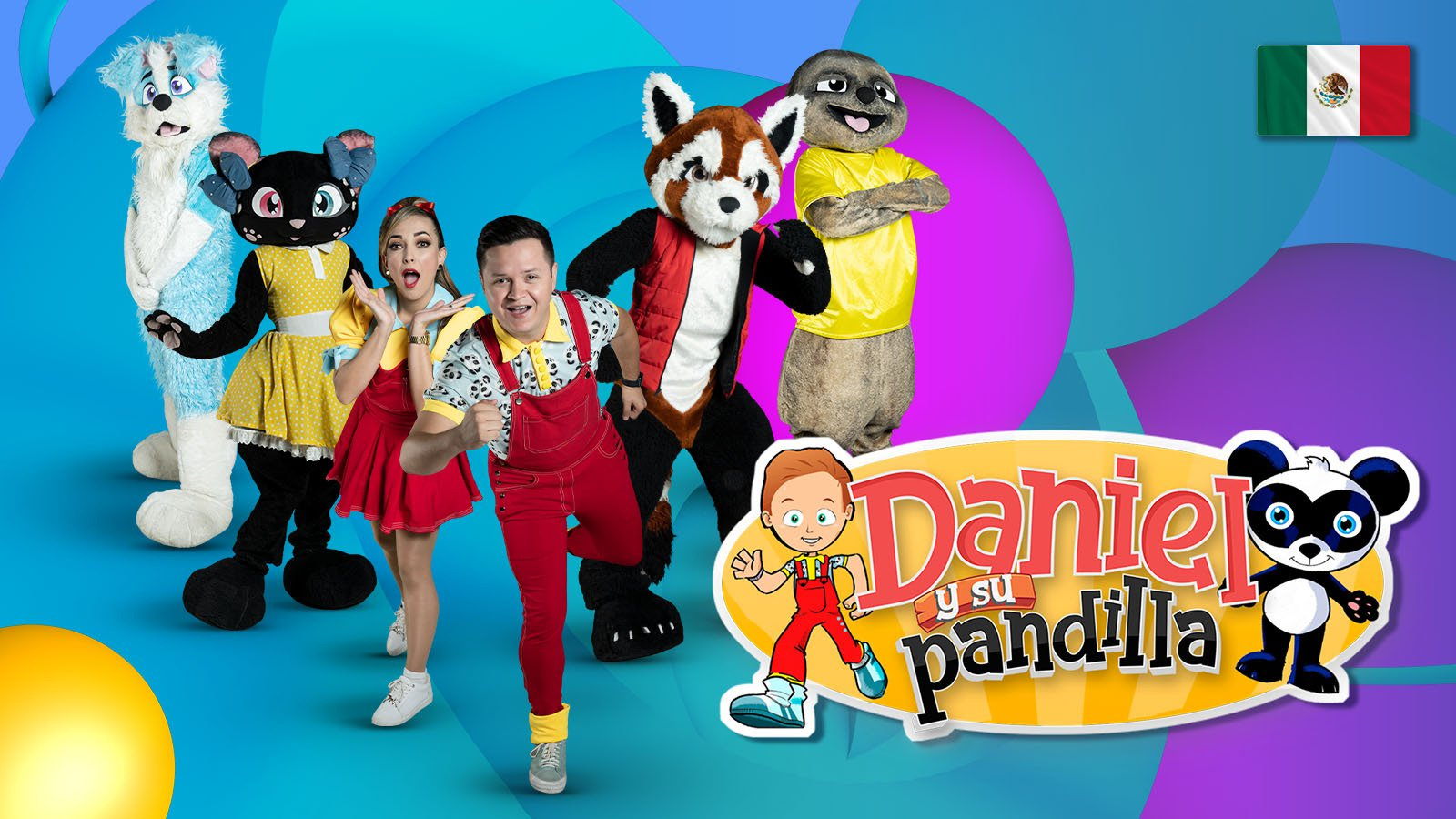 Daniel y su pandilla poster