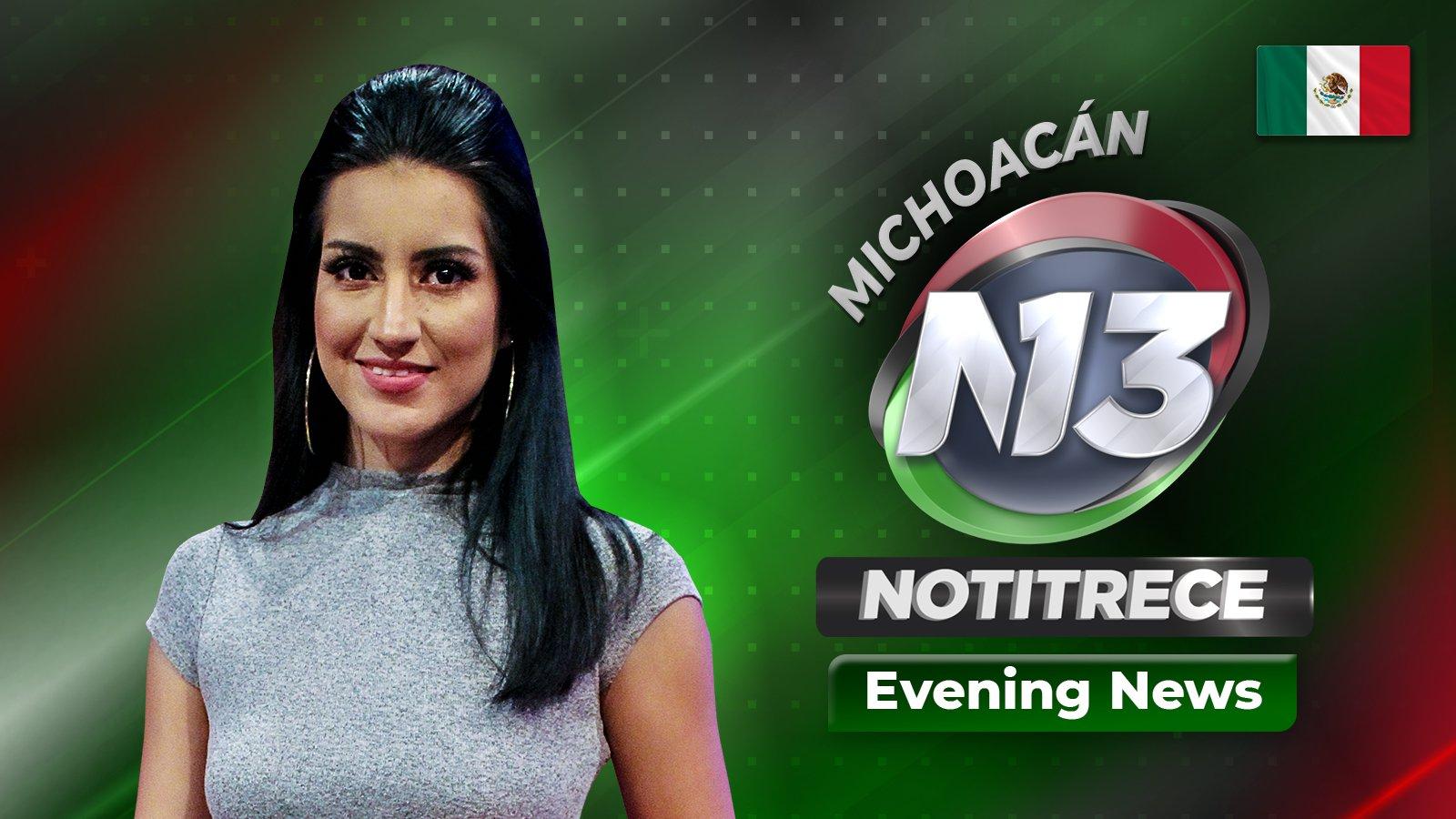 Evening Noti13 Michoacán poster