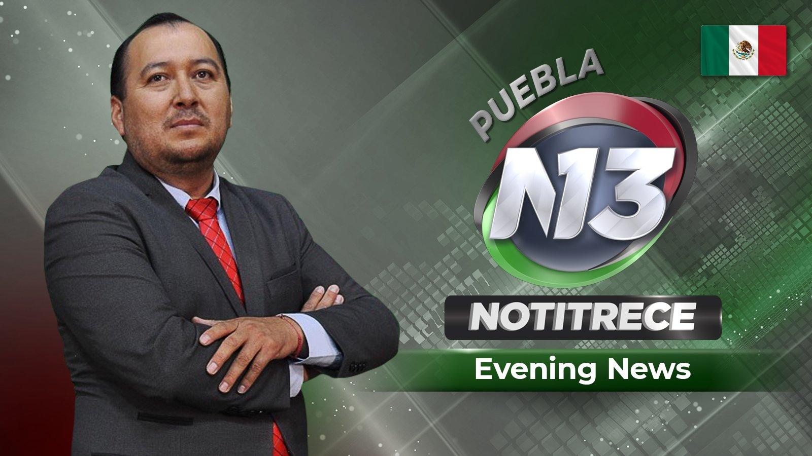 Evening Noti13 Puebla/Tlaxcala poster