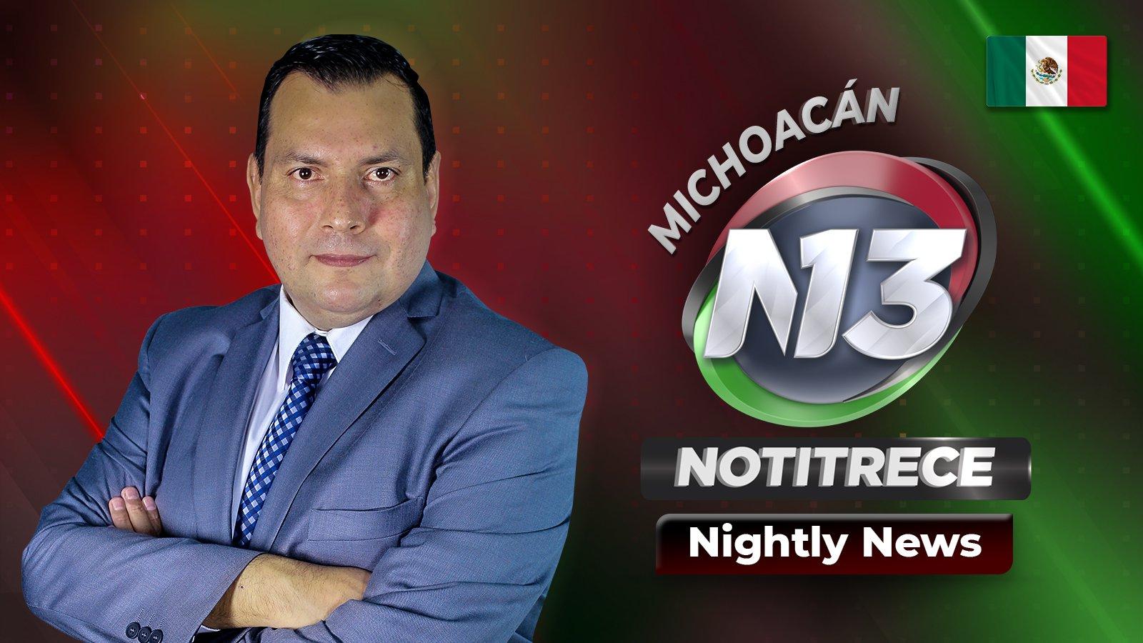 Nightly Noti13 Michoacán poster