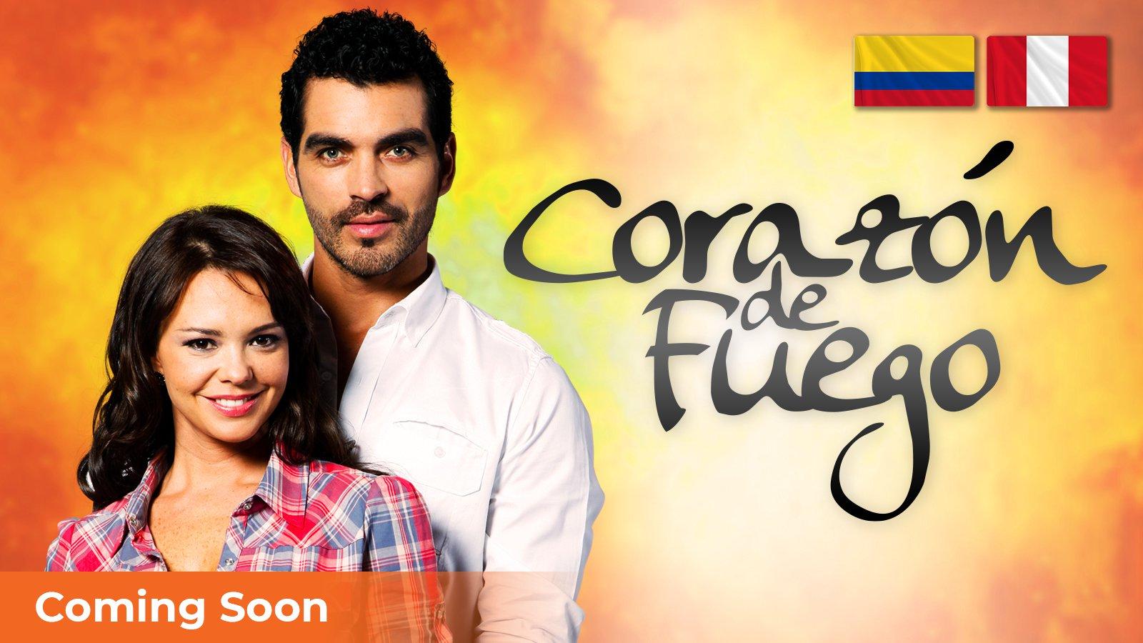 Corazón de Fuego poster