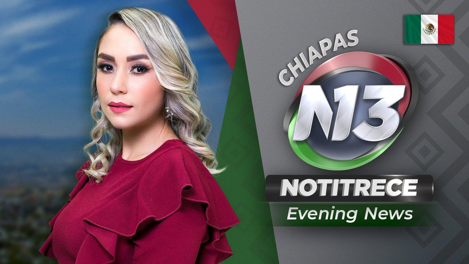Evening Noti13 Chiapas poster