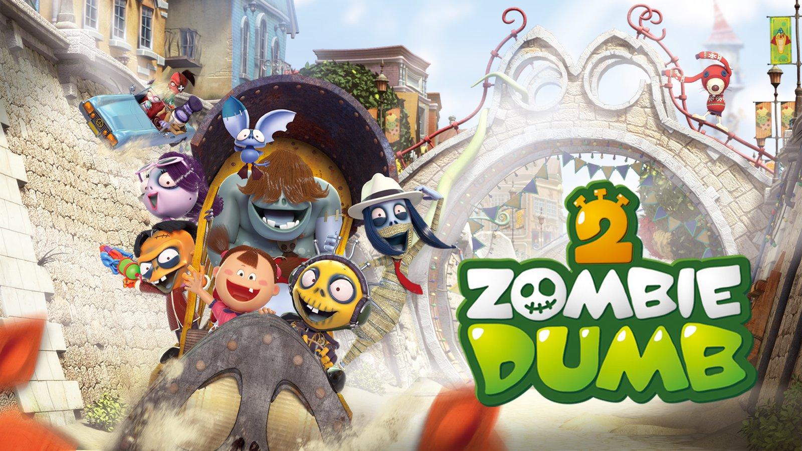 Zombiedumb Season 2 poster