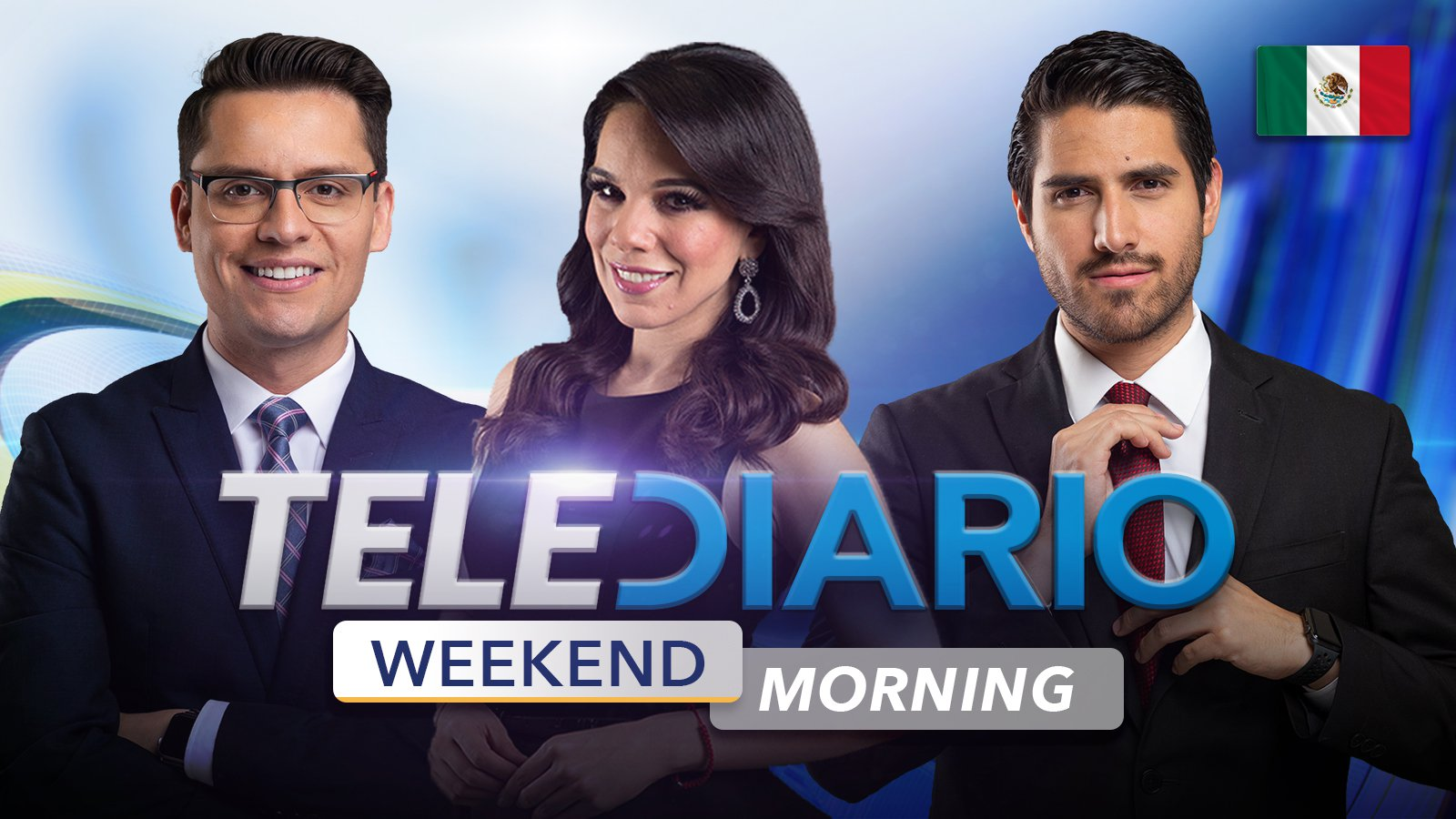 Weekend Morning Telediario poster