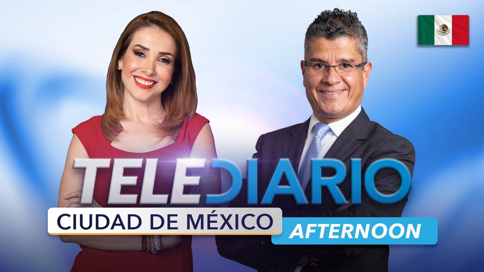 Afternoon CDMX Telediario poster