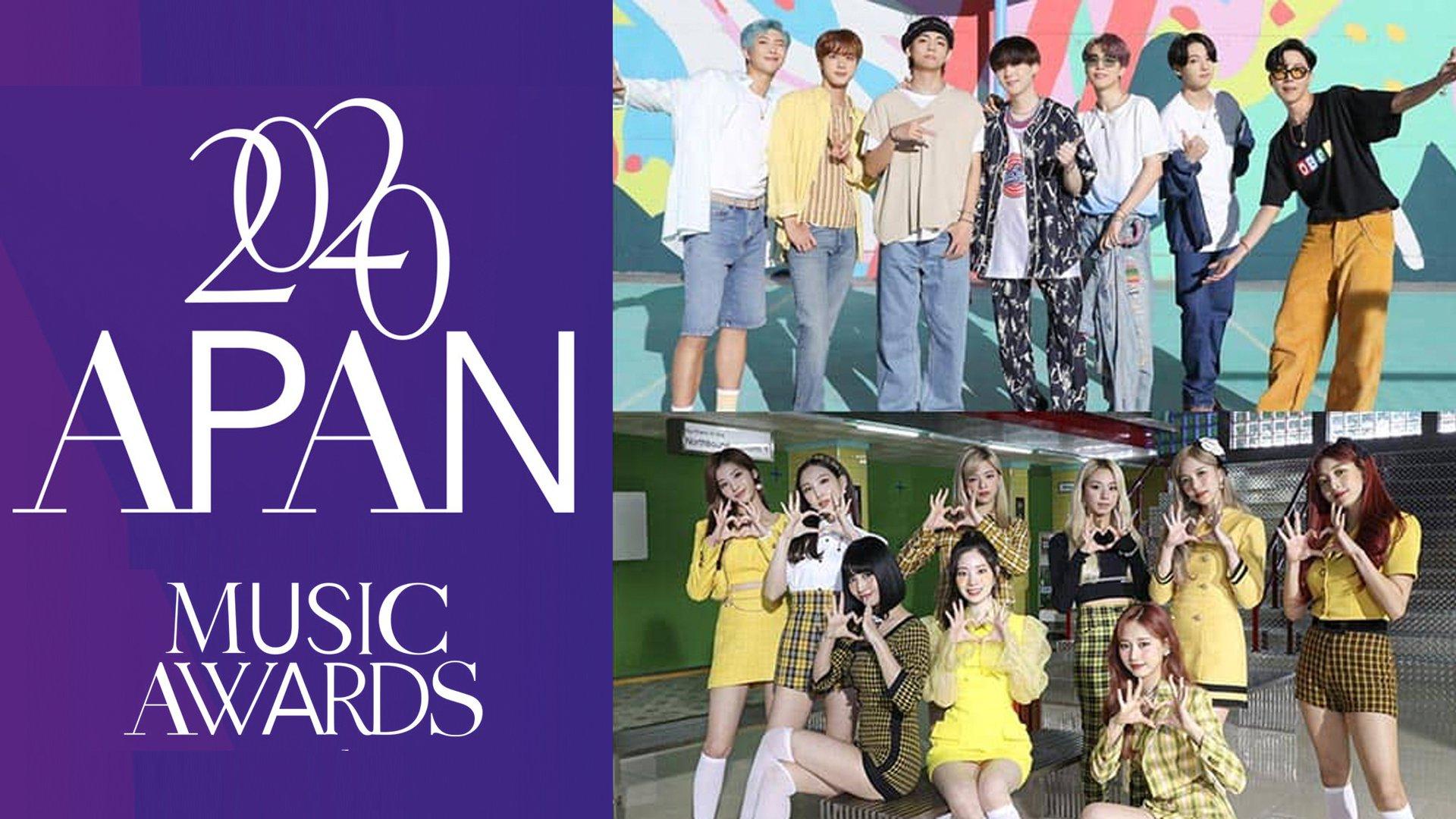 2020 韩国APAN亚太音乐盛典